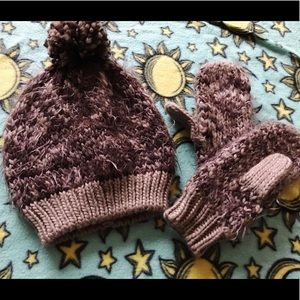 Madden Hat And Mittens Winter Fall